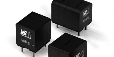 High current inductor is optimised for Class D amplifiers