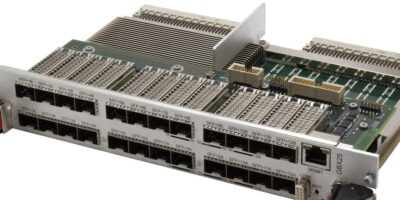 Abaco introduces 6U VME Ethernet switch with management software