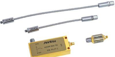 Anritsu introduces DC block and cables to scale networking