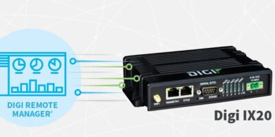 Industrial router is adaptable for unattended retail digital signage