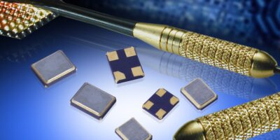 Low phase noise crystal oscillators operate in automotive temperatures