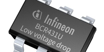 LED driver IC has industry's lowest voltage drop, says Infineon