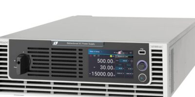 Bi-directional power supply simplifies EV powertrain testing