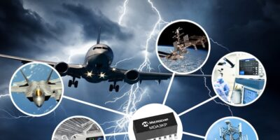 TVS diode array protects space systems and aircraft