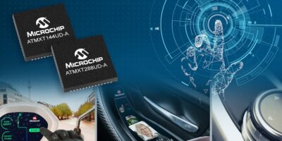 Touch controllers are weather-proof, says Microchip