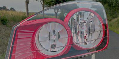 LucidShape CAA V5 software designs automotive lighting within CATIA V5
