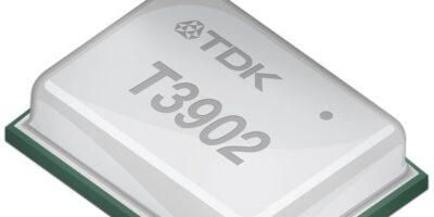 TDK claims T3902 is world's lowest power PDM microphone