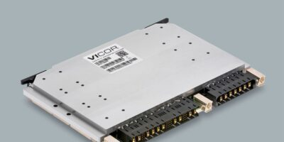 VITA-62-compliant power supply is designed for conduction-cooled chassis systems