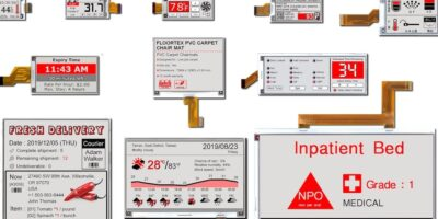 Pervasive Displays lowers e-paper operating temperature for outdoor use