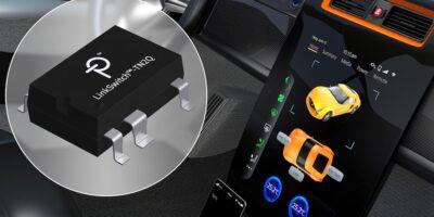 LinkSwitch-TN2 HV switcher ICs are automotive-certified