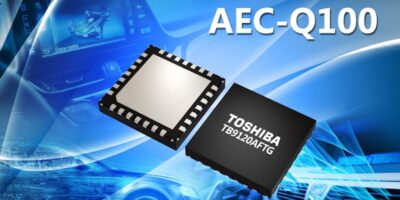 Two-phase stepping motor driver streamlines system design