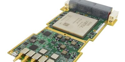 VadaTech's 3U VPX SBC has large RAM for radar and smart jamming