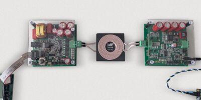 Developer kit combines wireless power and data transmission