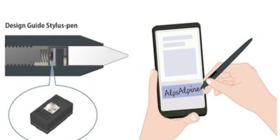 Force sensor brings touch input to mobile devices