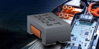 Common mode chip inductors suppress noise in high temperatures