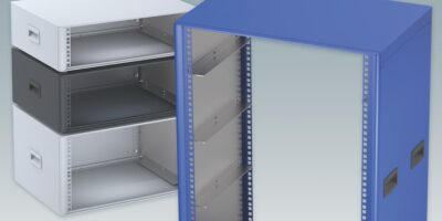 Mini-racks from Metcase can be supplied in custom heights to 16U