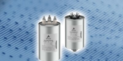 Three-phase AC-filter capacitors are easy to install, says TDK