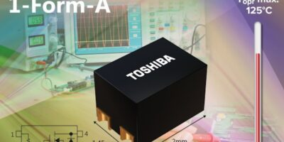 Photo relays reduce mounting density to save equipment space, says Toshiba